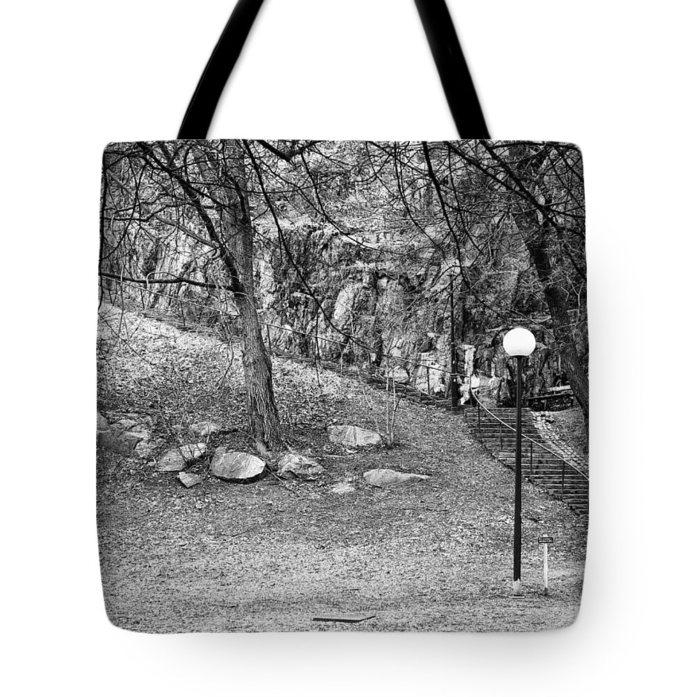 Beautiful Tote Bag featuring the photograph The Way Up...stockholm by Stelios Kleanthous
