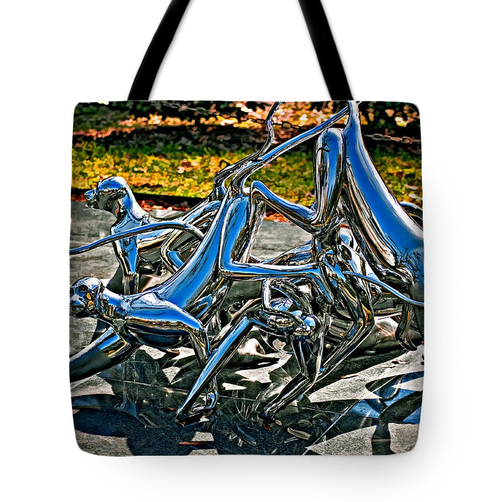 New Orleans Tote Bag featuring the photograph Then The Trouble Started by Steve Harrington