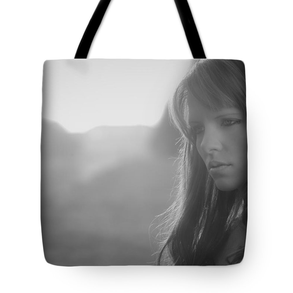Ralf Tote Bag featuring the photograph Thinking by Ralf Kaiser