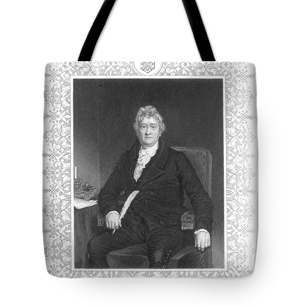 18th Century Tote Bag featuring the photograph Thomas Clarkson (1760-1846) by Granger