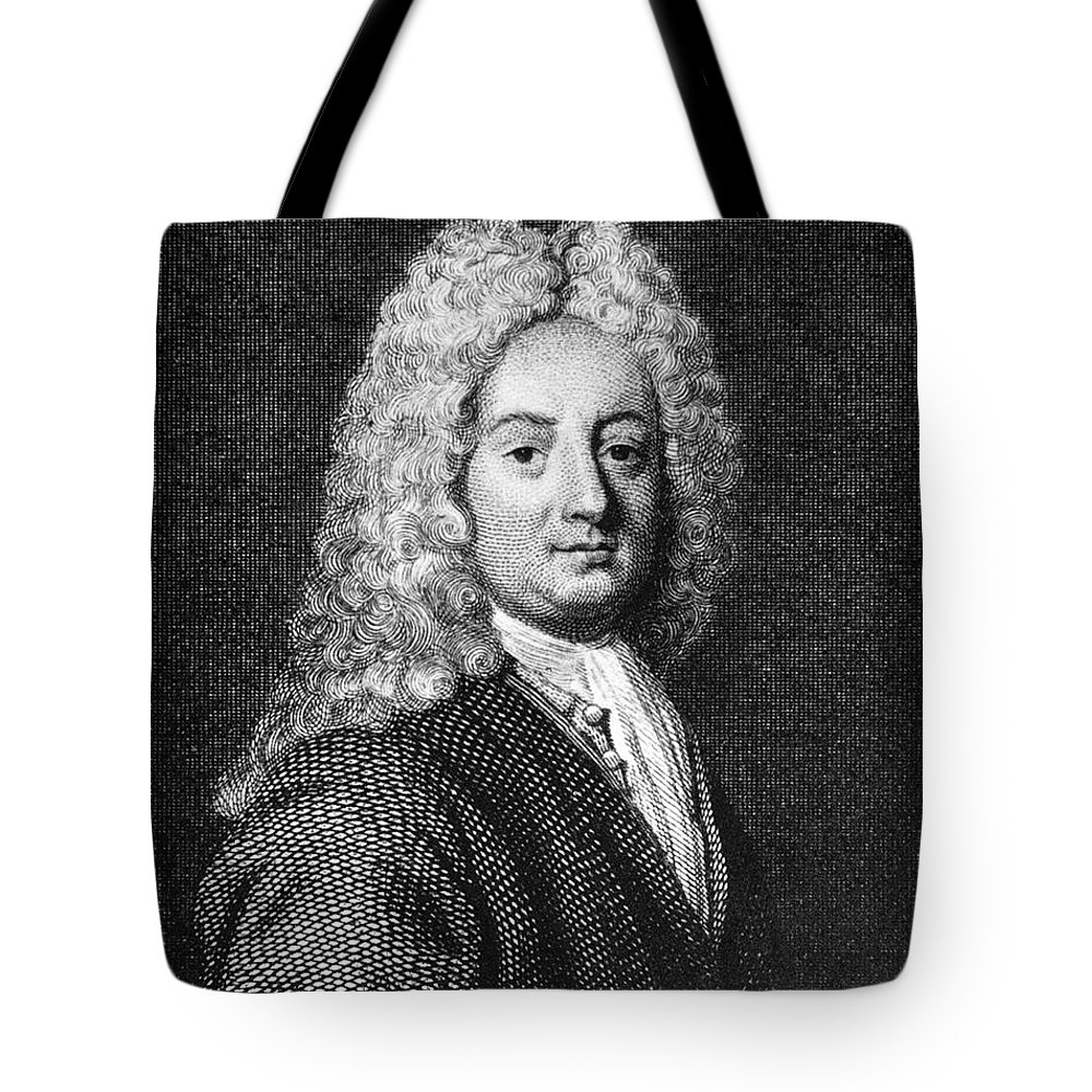 18th Century Tote Bag featuring the photograph Thomas Forster (1675-1738) by Granger