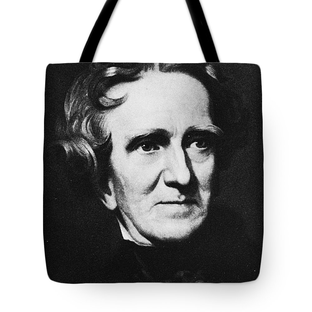 19th Century Tote Bag featuring the photograph Thomas Sully (1783-1872) by Granger