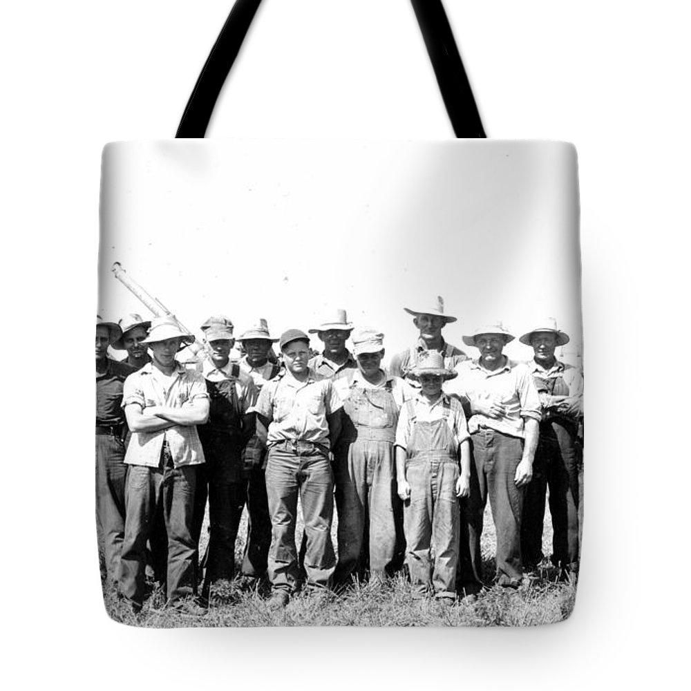 Thresher Tote Bag featuring the photograph Thresher Days by Bonfire Photography
