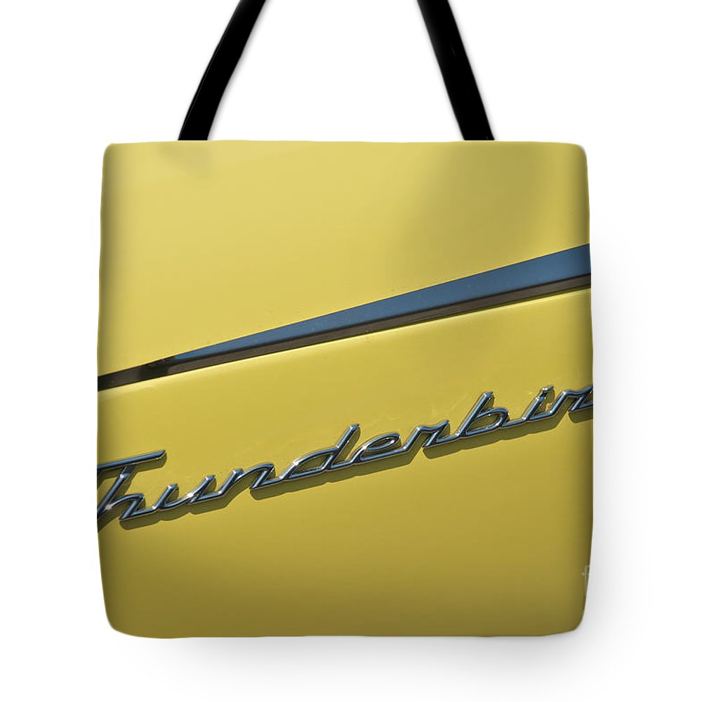 Day Tote Bag featuring the photograph Thunderbird Emblem by Mark Dodd