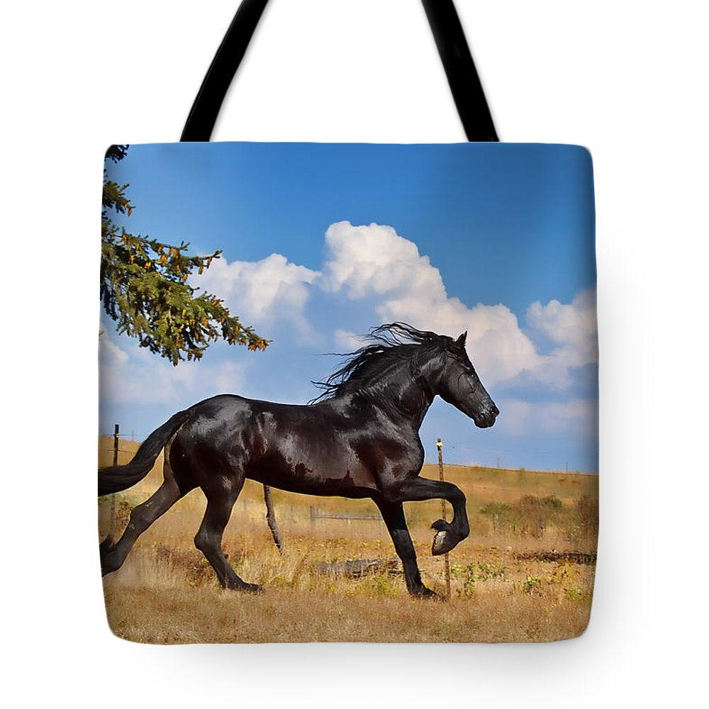 Thunderheads Tote Bag featuring the photograph Thunderheads by Wes and Dotty Weber