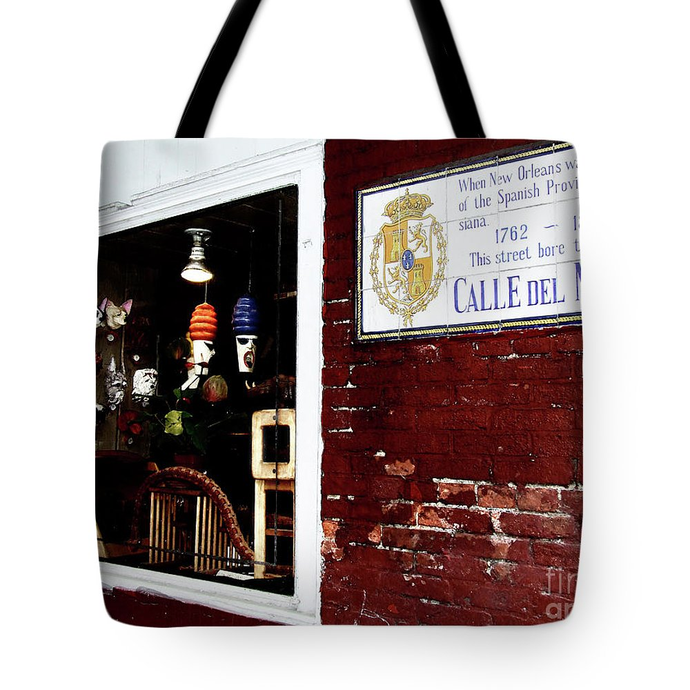 Calle Del Maine Tote Bag featuring the photograph The Window On Calle Del Maine by Frances Hattier