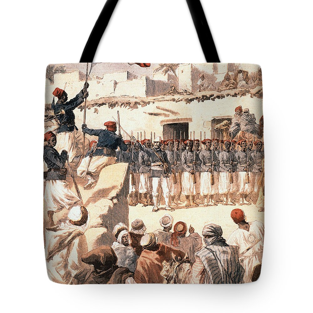 1894 Tote Bag featuring the photograph Timbuktu, 1894 by Granger