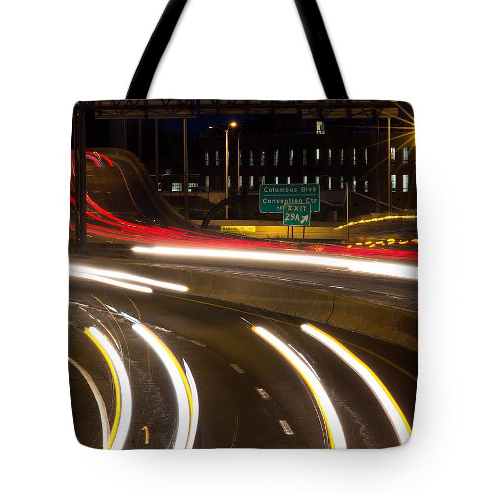 Hartford Tote Bag featuring the photograph Time Lapse by Frank Pietlock
