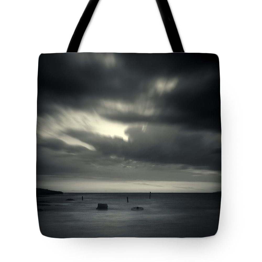 Abstract Tote Bag featuring the photograph Time by Stelios Kleanthous