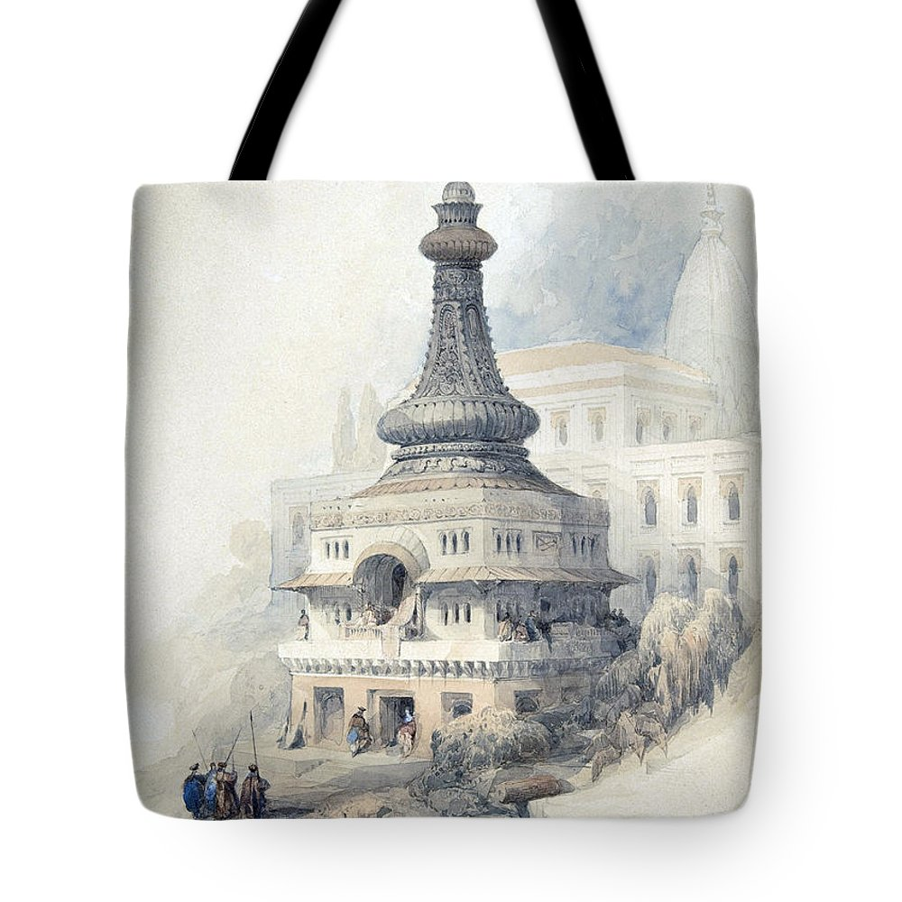 Tom Tote Bag featuring the photograph Tom Of David S Son by Munir Alawi