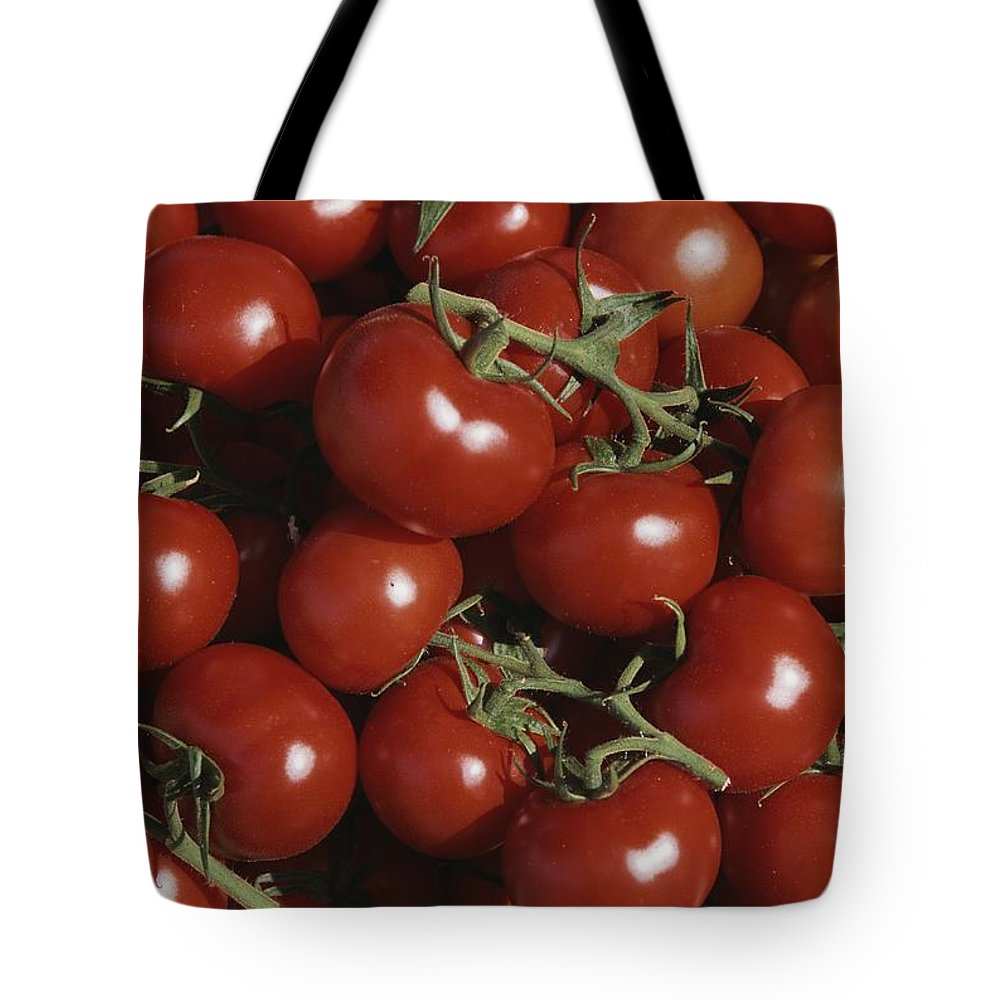 Europe Tote Bag featuring the photograph Tomatoes At A Market In Provence by Nicole Duplaix