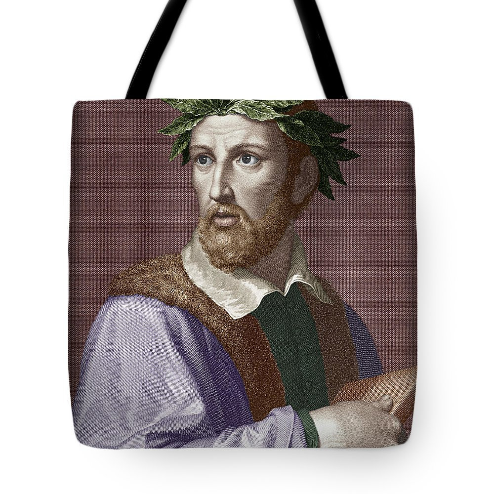 16th Century Tote Bag featuring the photograph Torquato Tasso (1544-1595) by Granger