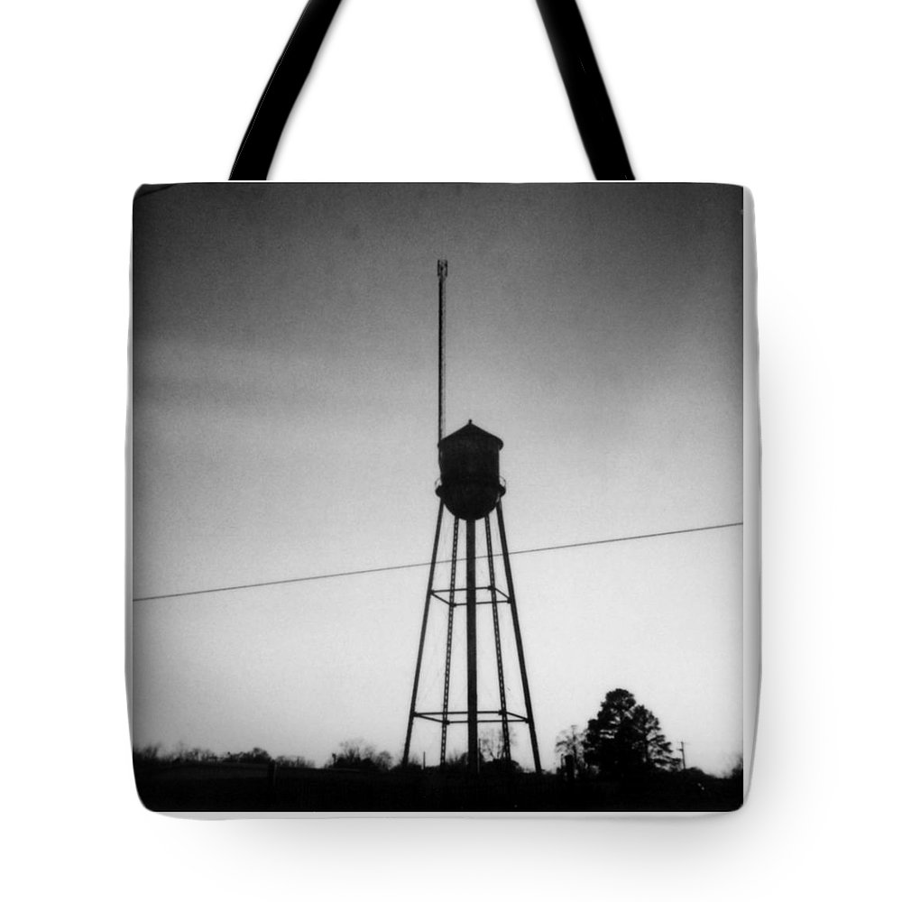 Louisiana Tote Bag featuring the photograph Tower- Jackson Street- Monroe Louisiana by Doug Duffey