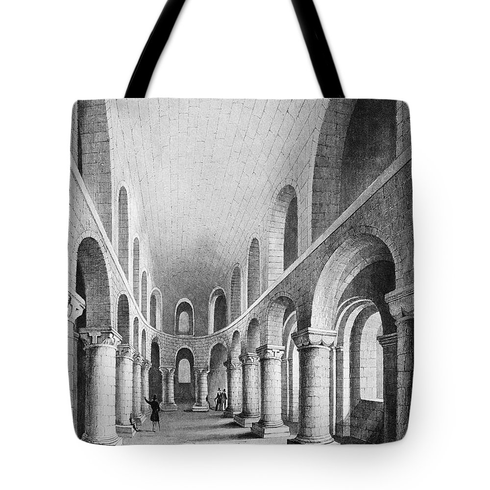 1080 Tote Bag featuring the photograph Tower Of London: Chapel by Granger