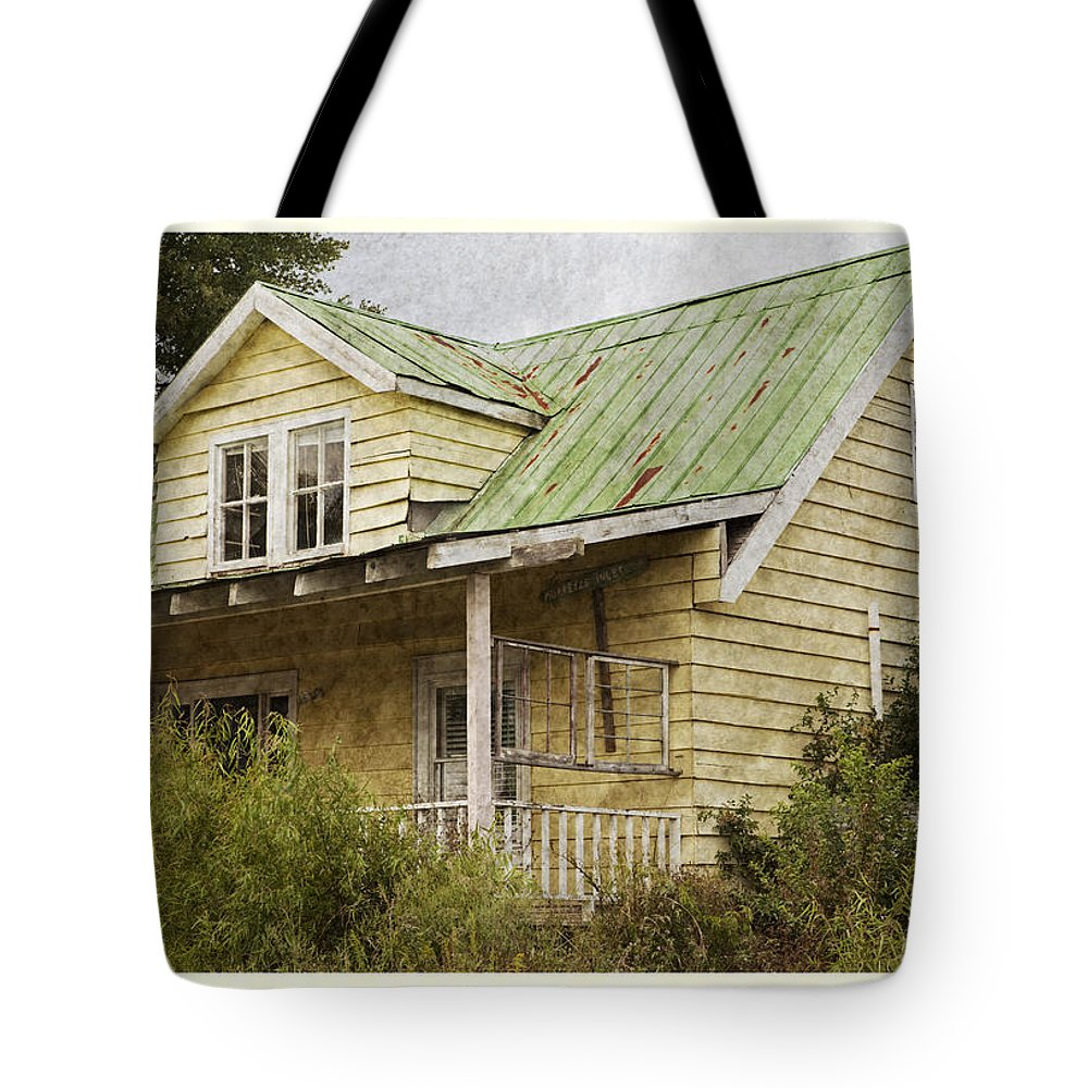 Cottage Tote Bag featuring the photograph Tropical Cottage by John Stephens