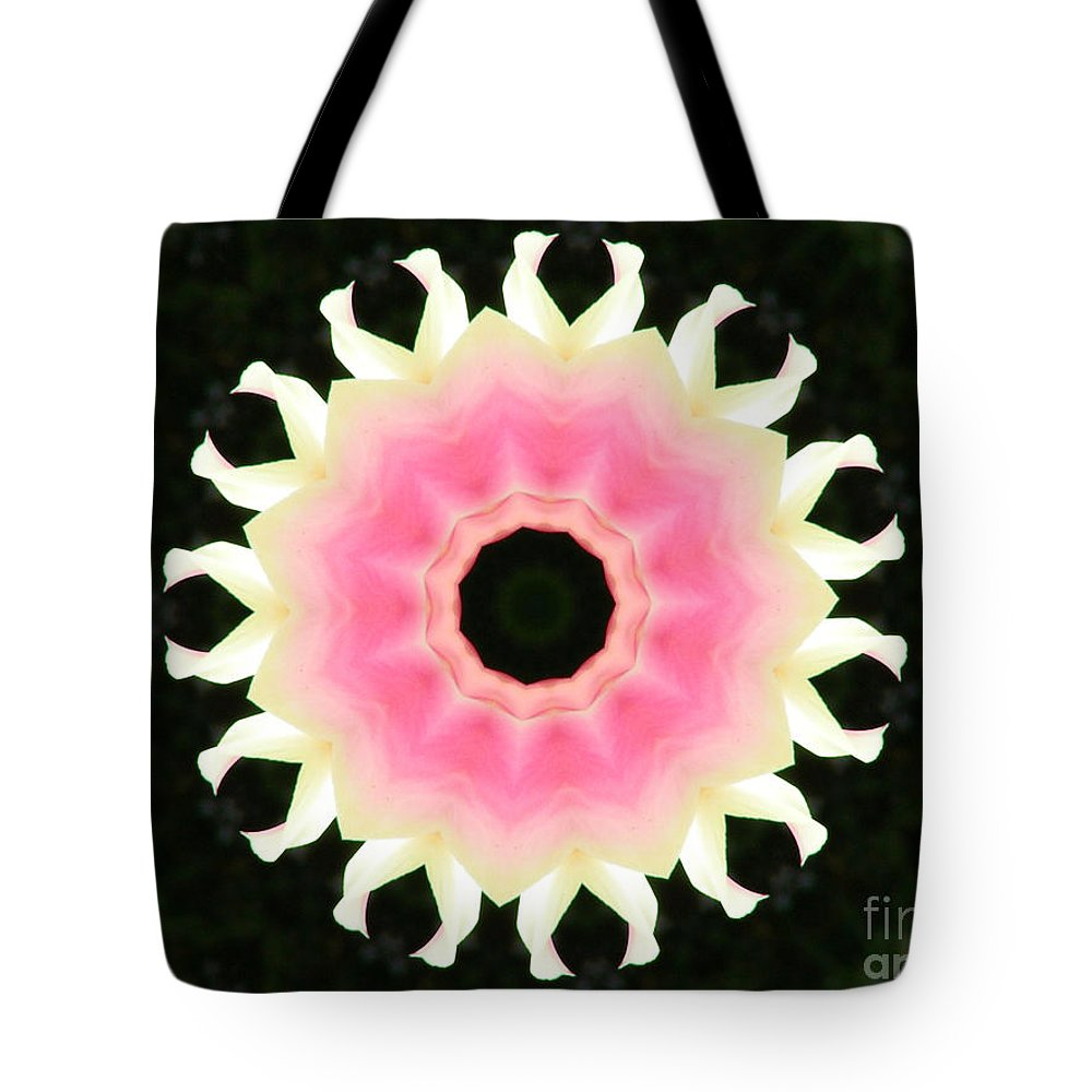 Digital Design Tote Bag featuring the photograph Tulips by Mark Gilman