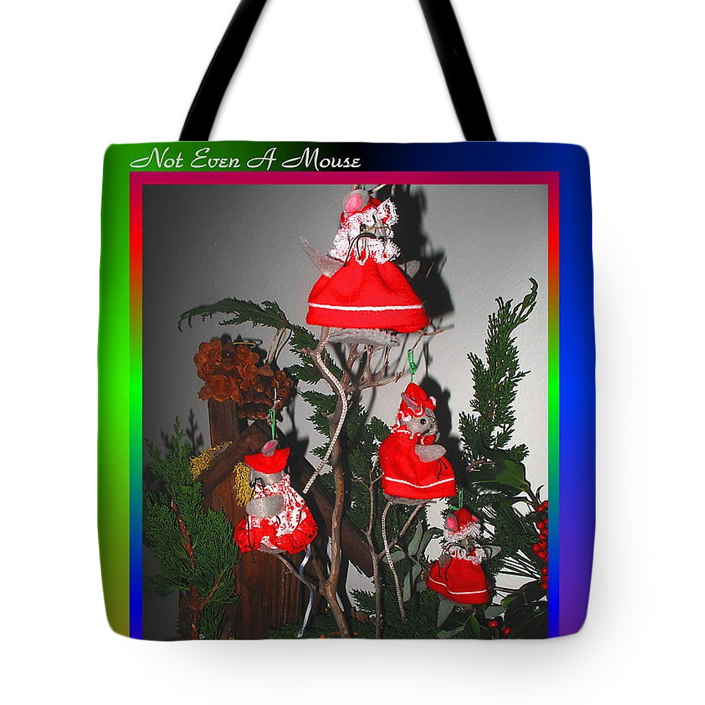 Card Tote Bag featuring the photograph Twas The Night Before Christmas by Joyce Dickens