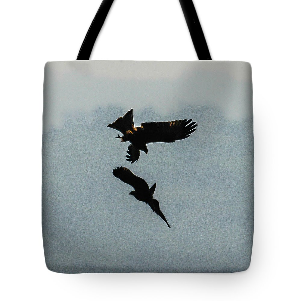 Action Tote Bag featuring the photograph Twister 3 by Alistair Lyne
