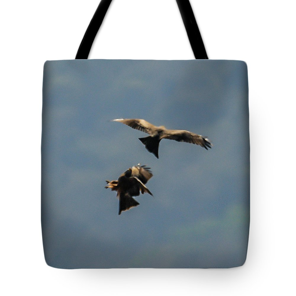 Action Tote Bag featuring the photograph Twister by Alistair Lyne