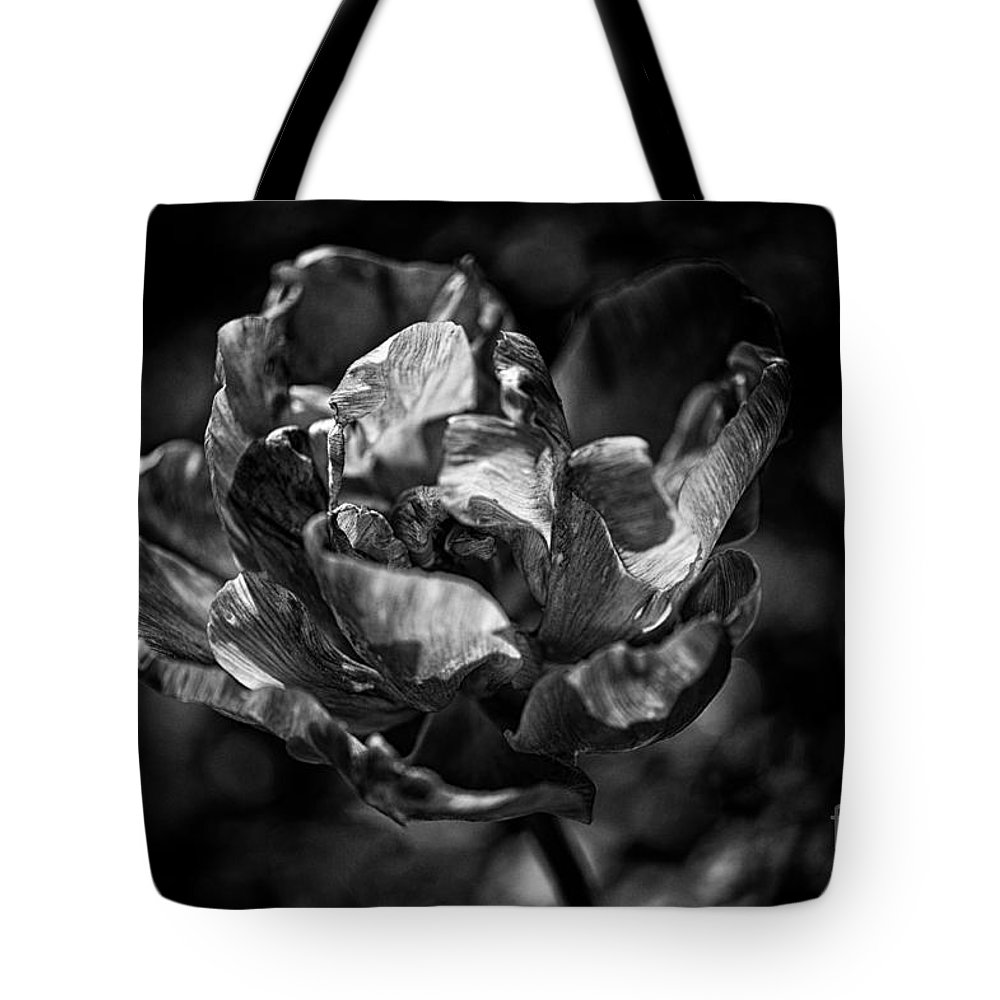Beautiful Tote Bag featuring the photograph Unfurled by Venetta Archer