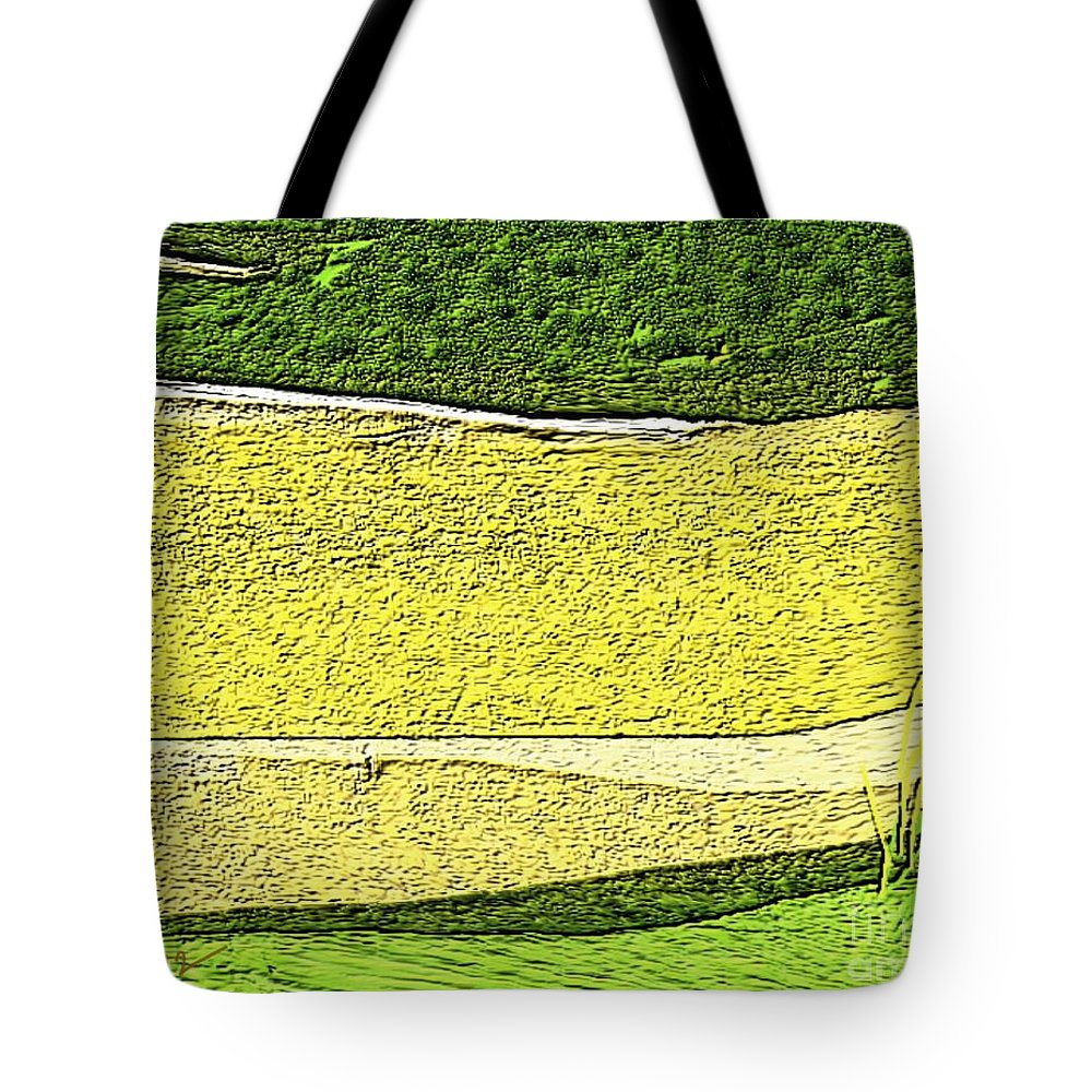 Paintings Tote Bag featuring the painting Untitled 195 by Nedunseralathan R
