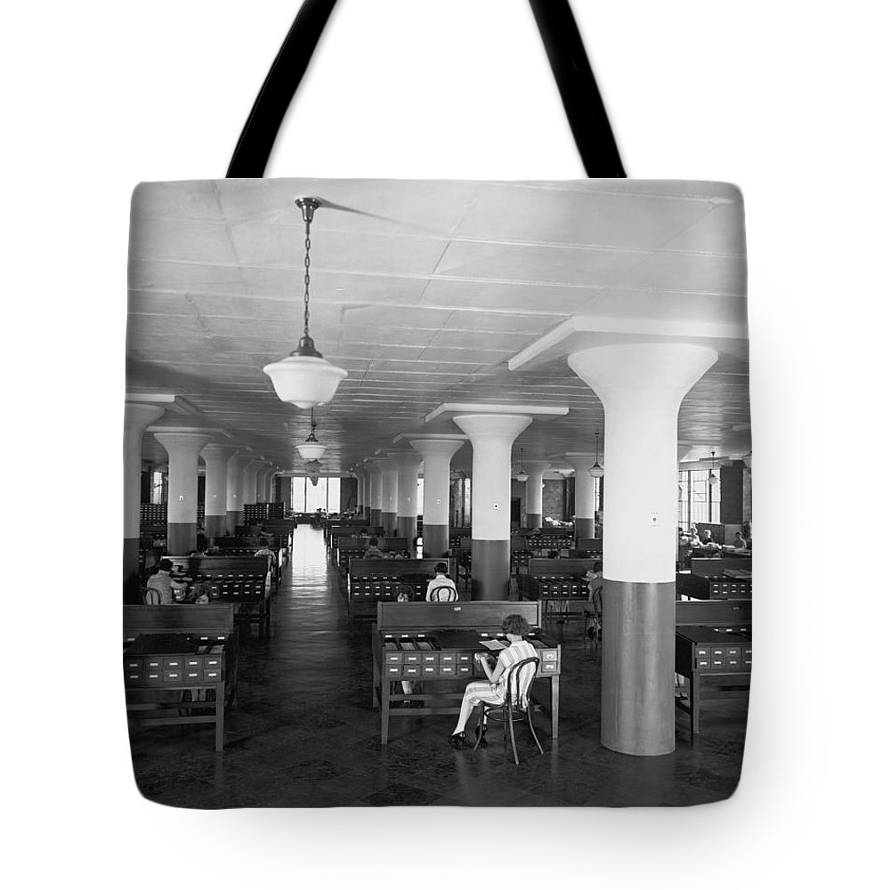 B And W Neg. No. 5131 B Tote Bag featuring the photograph Untitled by Edwin L. Wisherd