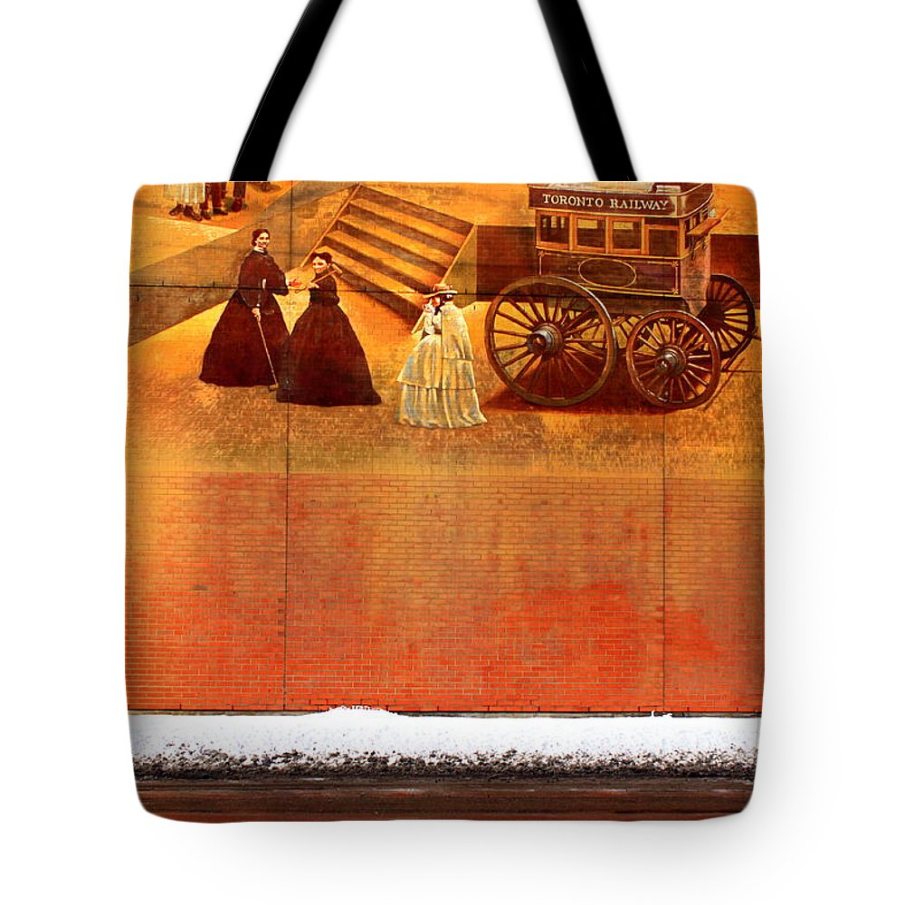 Urban Tote Bag featuring the photograph Urban Nothingness by Valentino Visentini