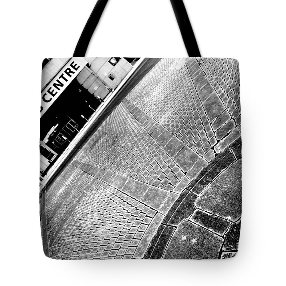 Urban Tote Bag featuring the photograph Urban Pattern by Valentino Visentini