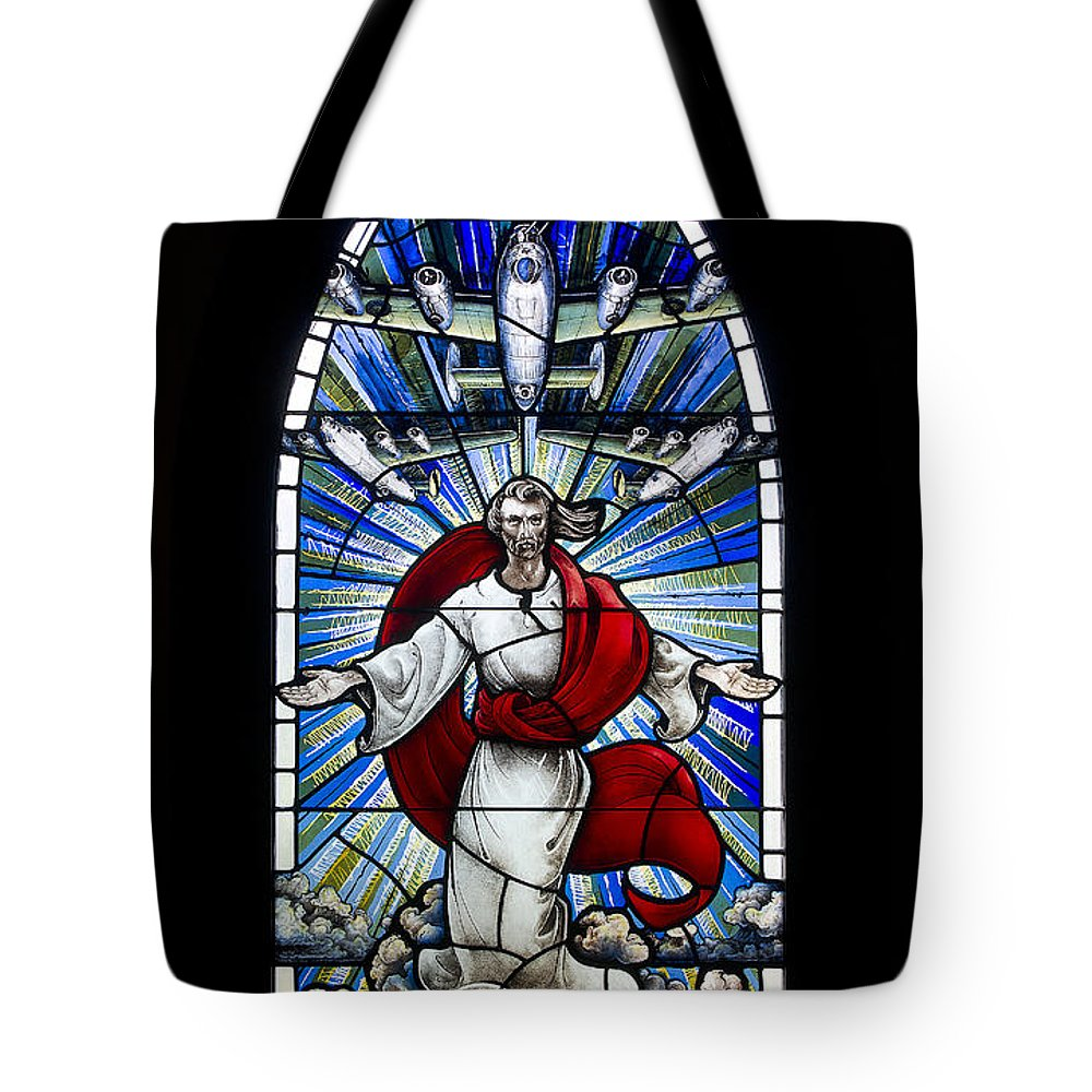 The Mighty 8th Framed Prints Tote Bag featuring the photograph US by Scott Rogers