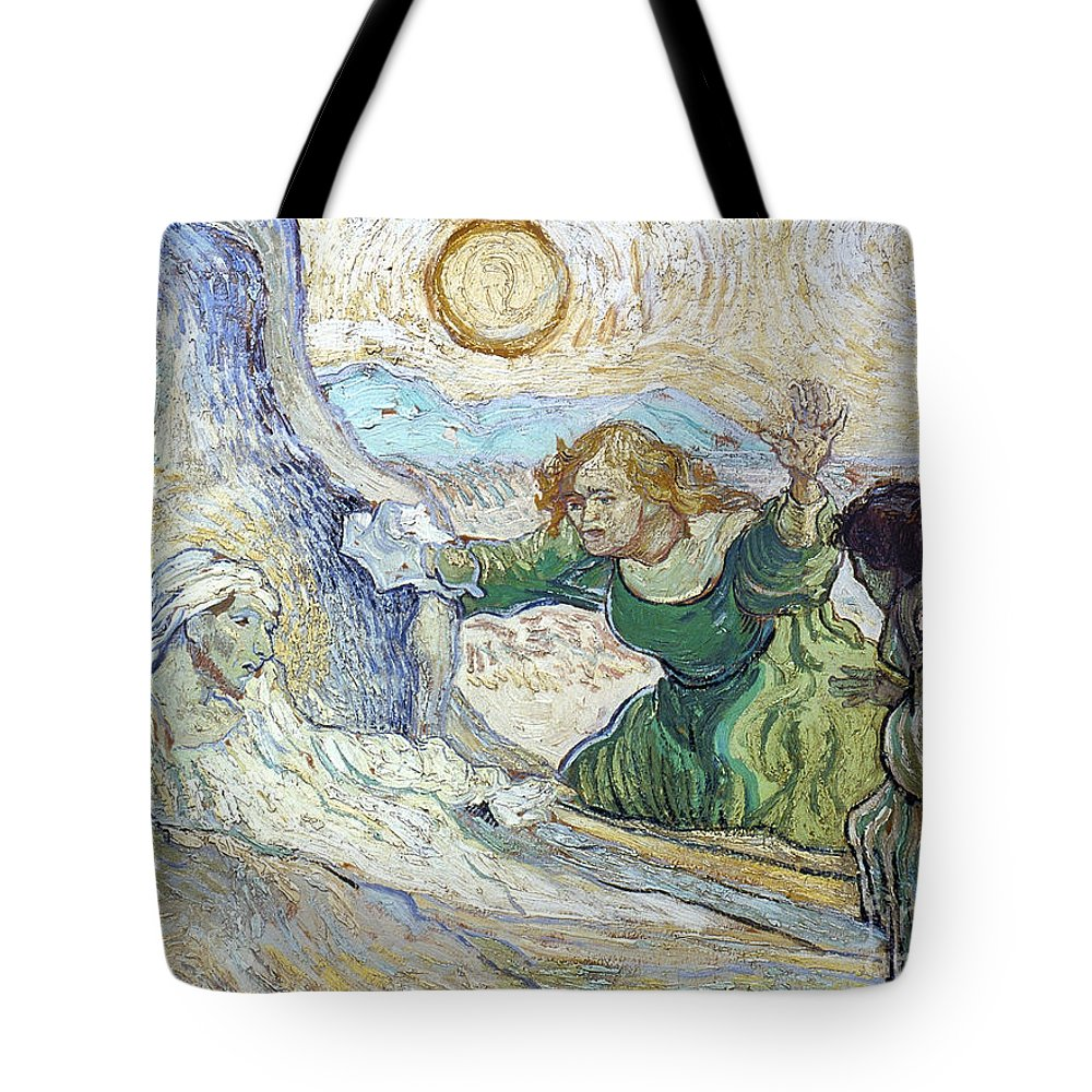 1890 Tote Bag featuring the photograph Van Gogh: Lazarus by Granger