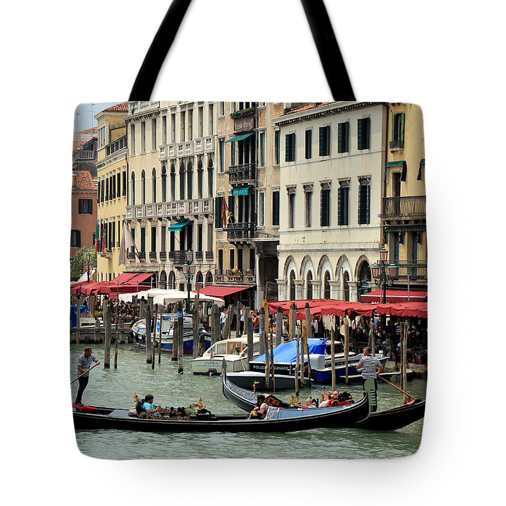 Venice Tote Bag featuring the photograph Venice Grand Canal 2 by Andrew Fare