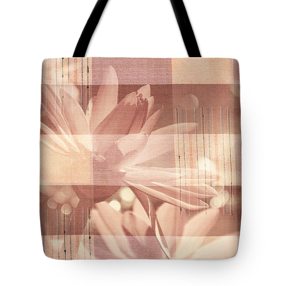 Flower Tote Bag featuring the photograph Very Subtle by Trish Tritz