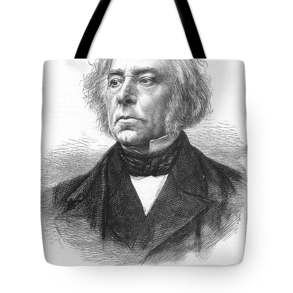 19th Century Tote Bag featuring the photograph Victor Cousin (1792-1867) by Granger