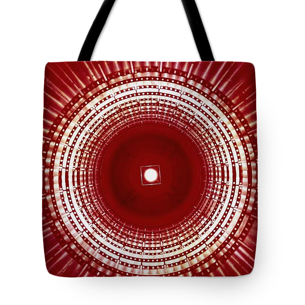 North America Tote Bag featuring the photograph View Of The Interior Of A Titan Missile by Paul Chesley