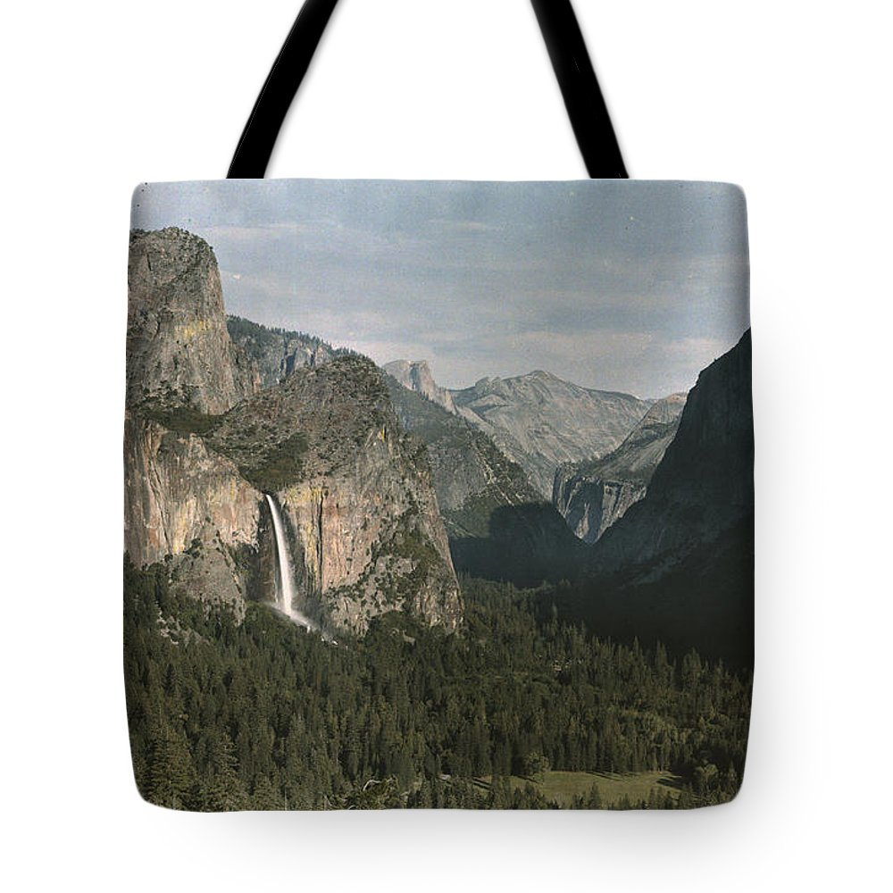 Day Tote Bag featuring the photograph View Of The Mountain El Capitan by Charles Martin