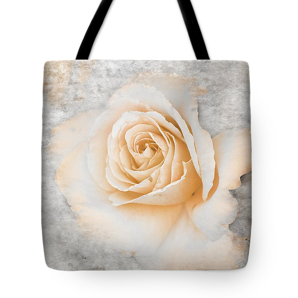 Rose Tote Bag featuring the photograph Vintage Rose II by Jai Johnson