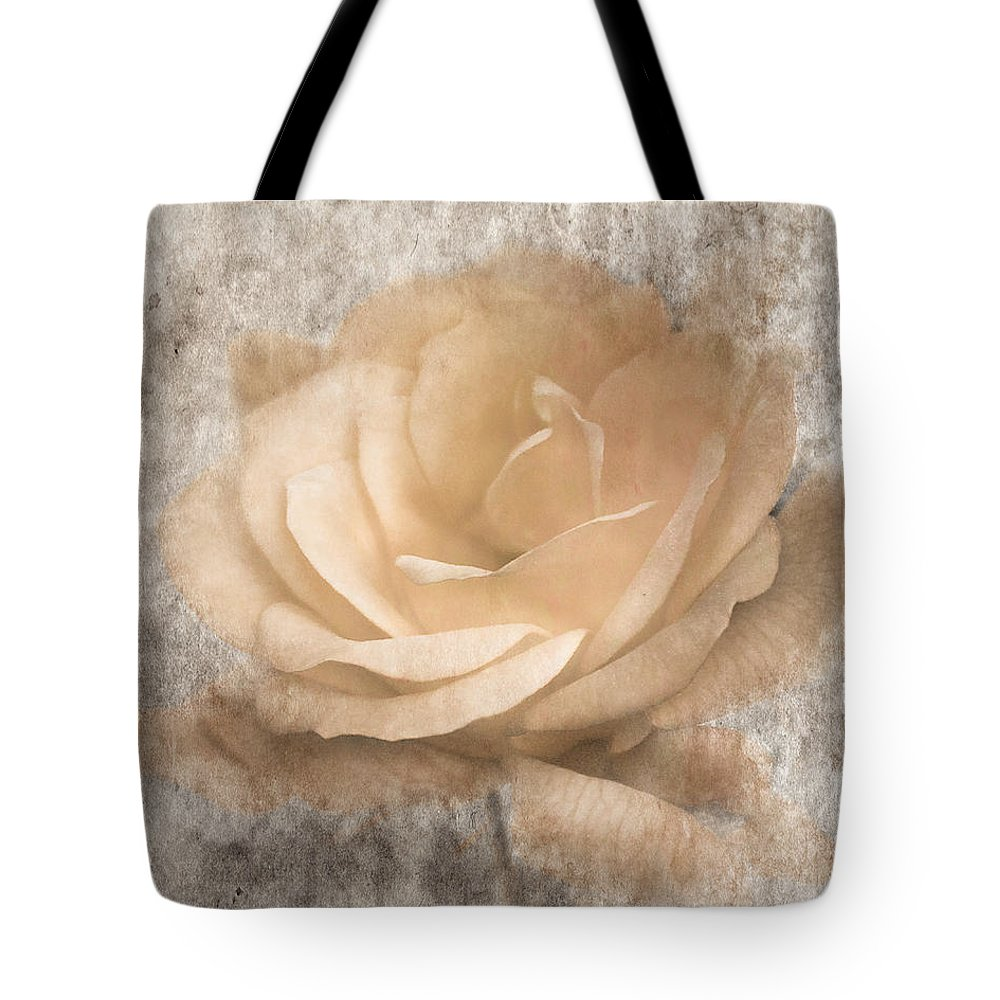 Rose Tote Bag featuring the photograph Vintage Rose IIi by Jai Johnson