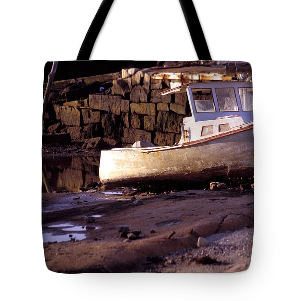 Photography Tote Bag featuring the photograph Waiting For The Tide by Brent L Ander