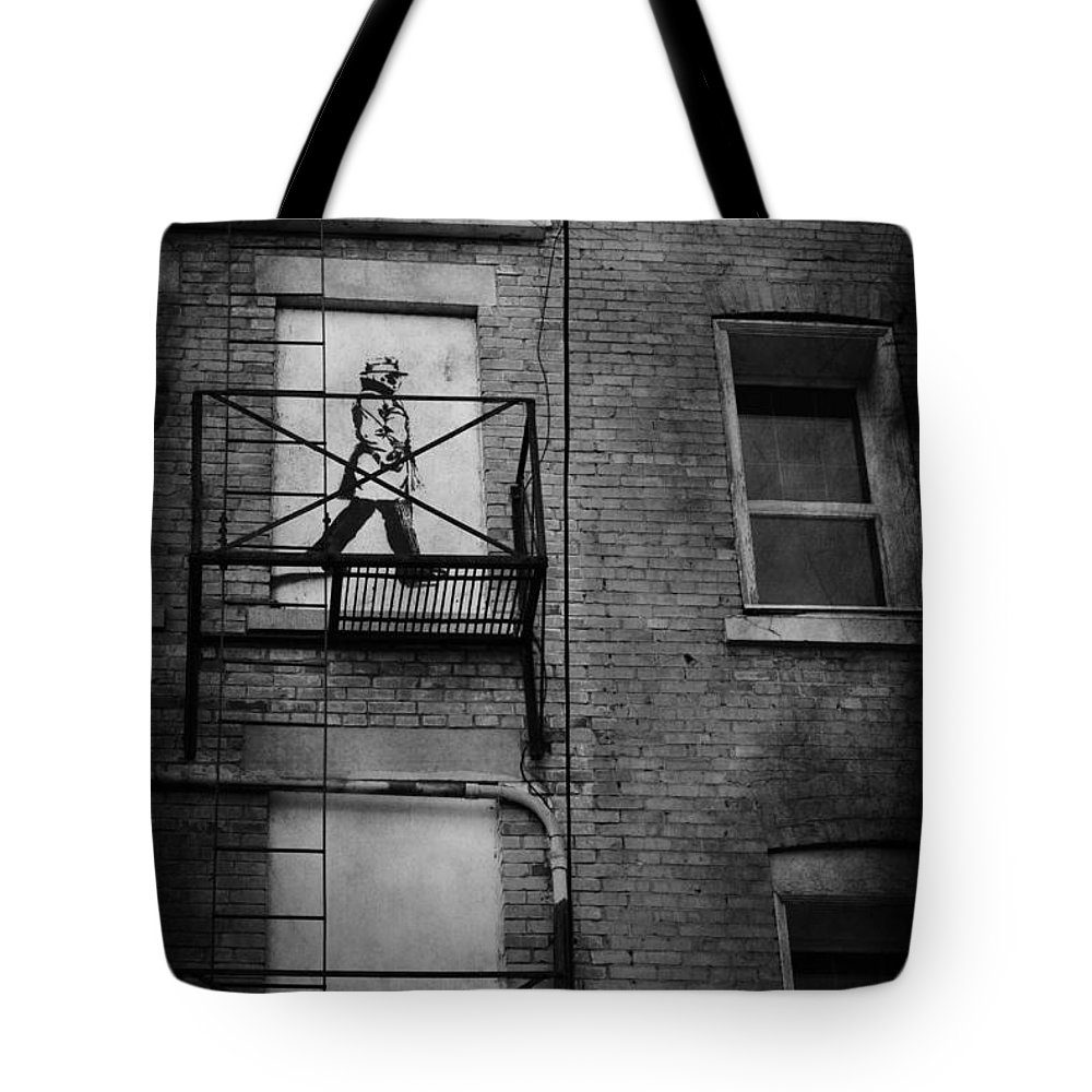 Jerry Cordeiro Tote Bag featuring the photograph Walk On White by The Artist Project
