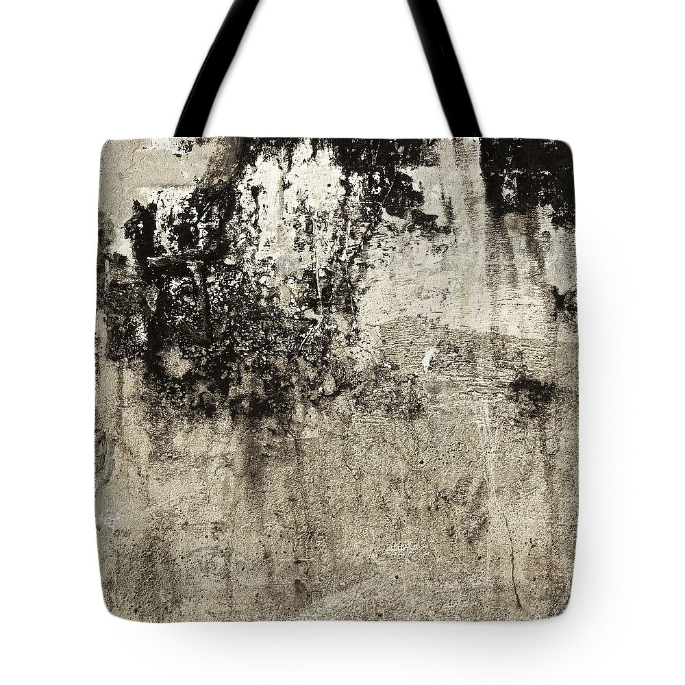 Wall Tote Bag featuring the photograph Wall Texture Number 9 by Carol Leigh