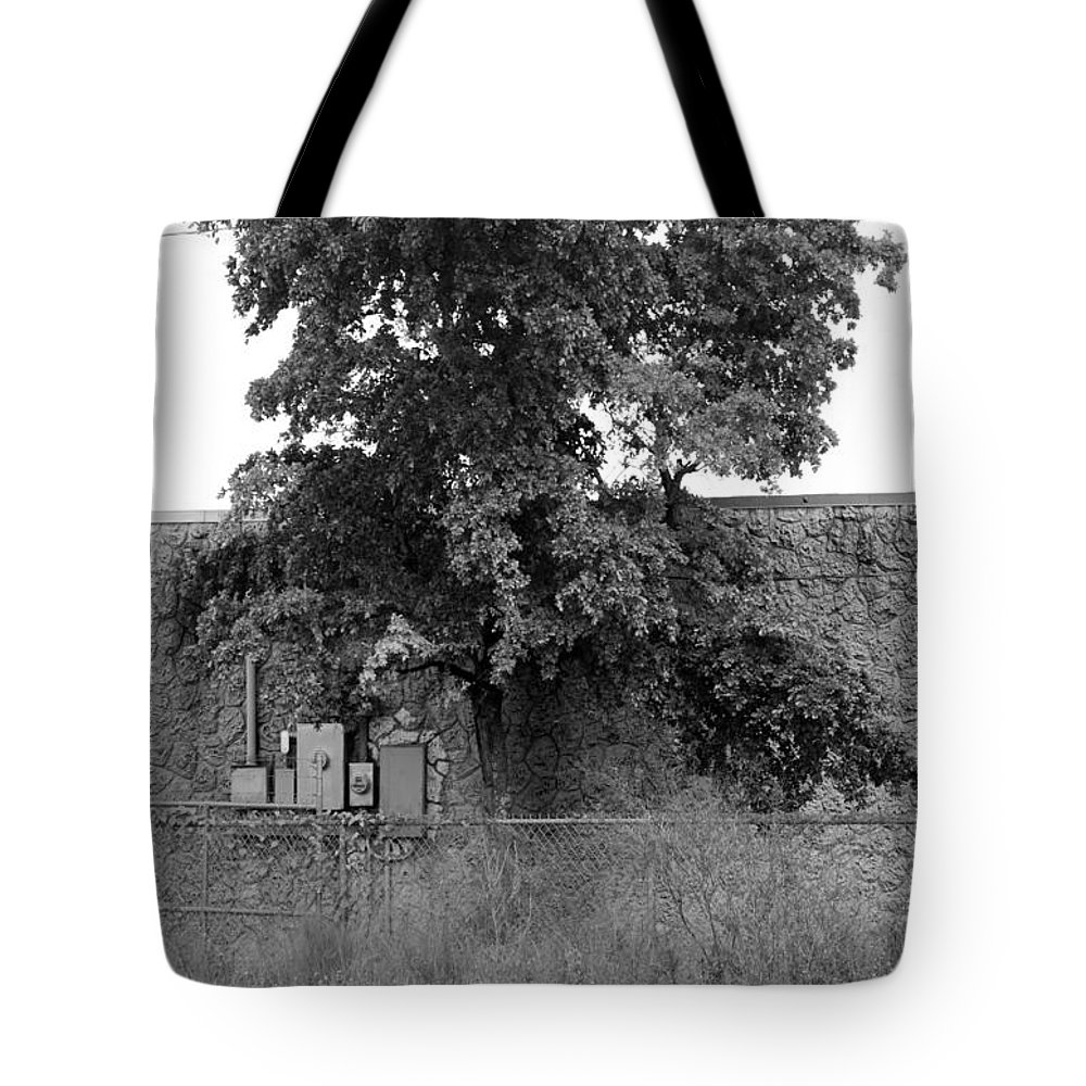 Grass Tote Bag featuring the photograph Wall Tree by Rob Hans