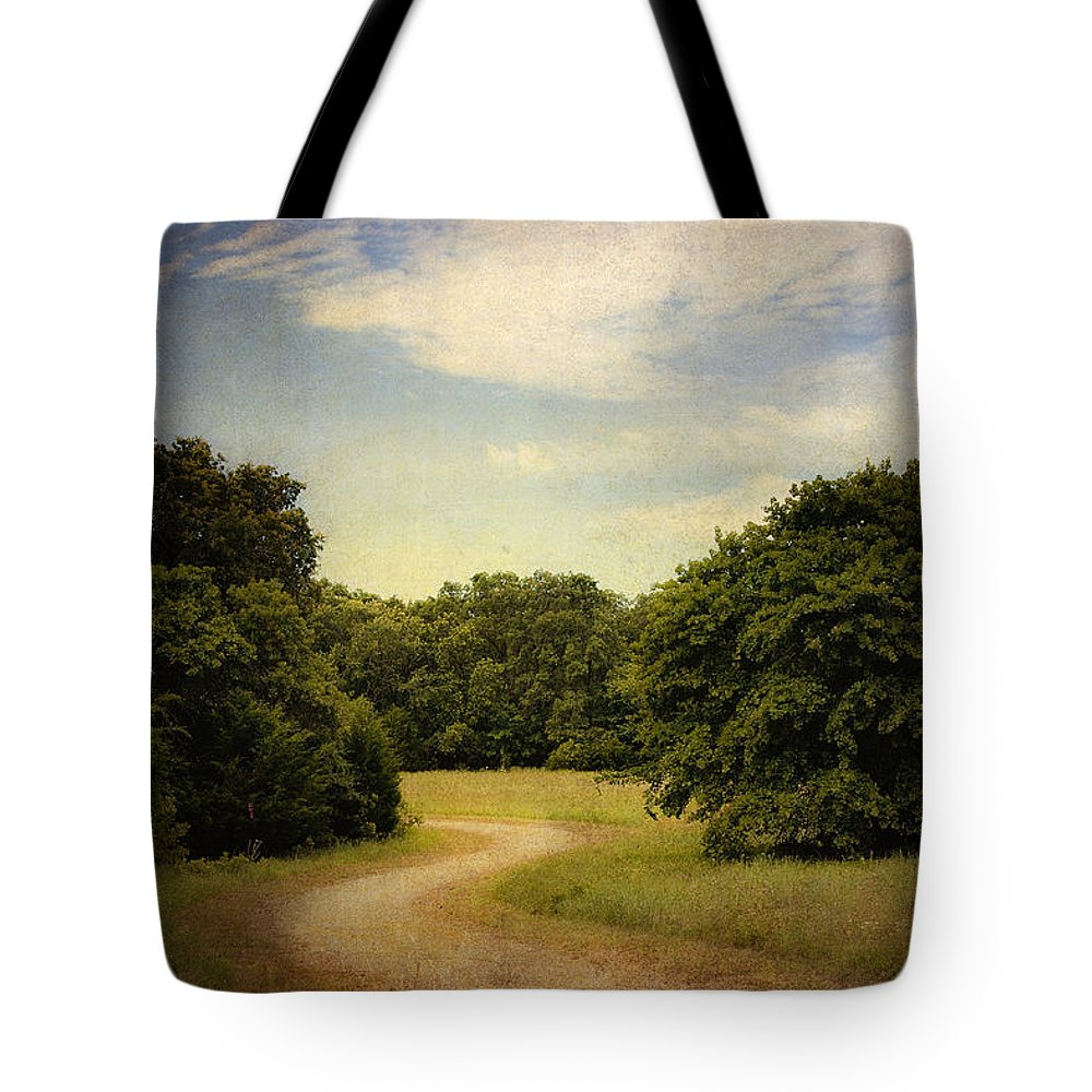 Landscape Tote Bag featuring the photograph Wandering Path II by Tamyra Ayles