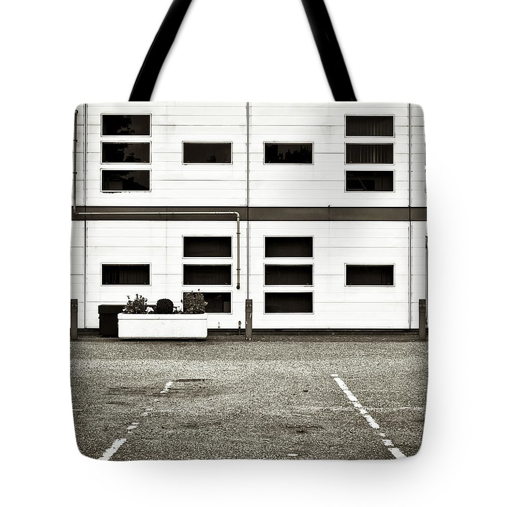 Access Tote Bag featuring the photograph Warehouse by Tom Gowanlock