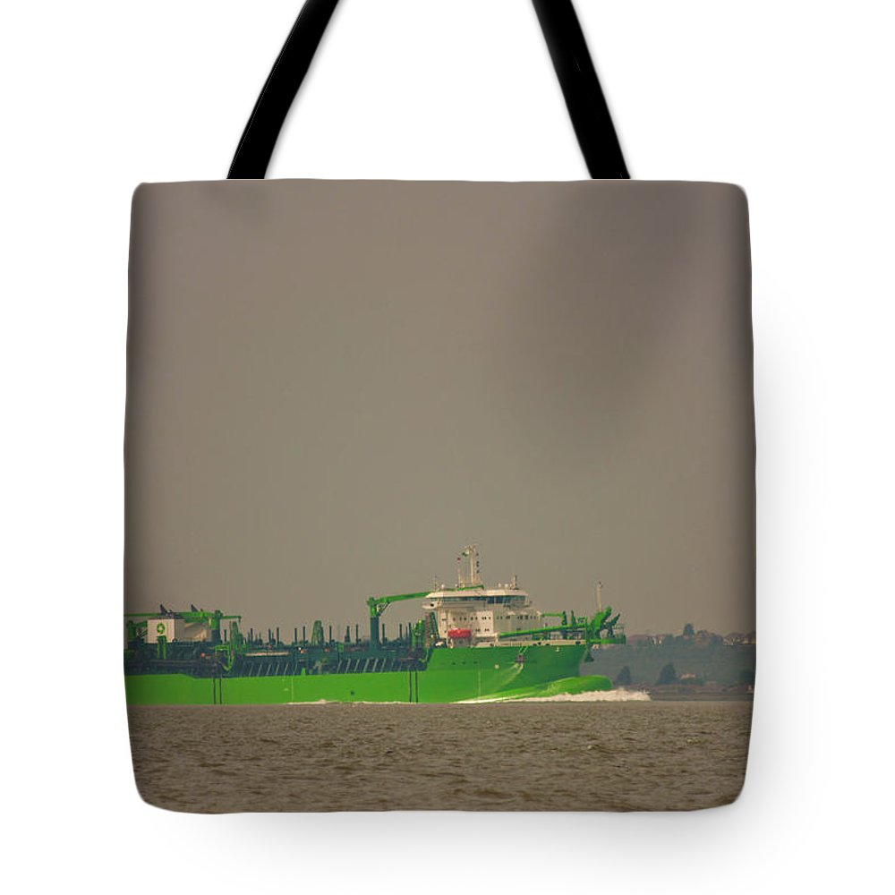 All Hallows Tote Bag featuring the photograph Waste Disposal by Dawn OConnor