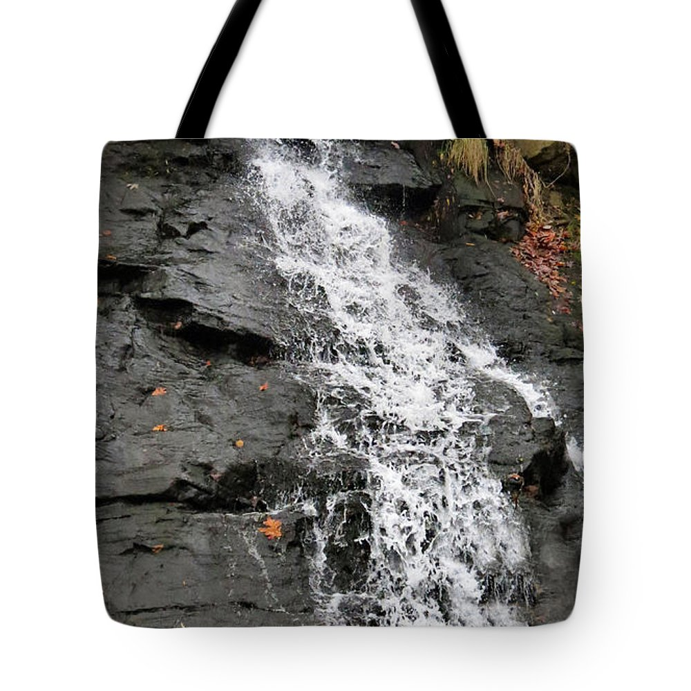 Water Tote Bag featuring the photograph Water Goddess by Art Dingo