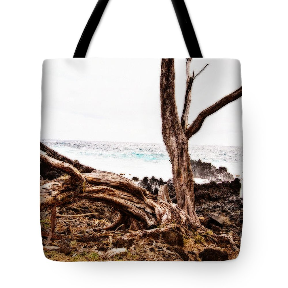Tree Tote Bag featuring the photograph Weathered Beauty by Scott Pellegrin