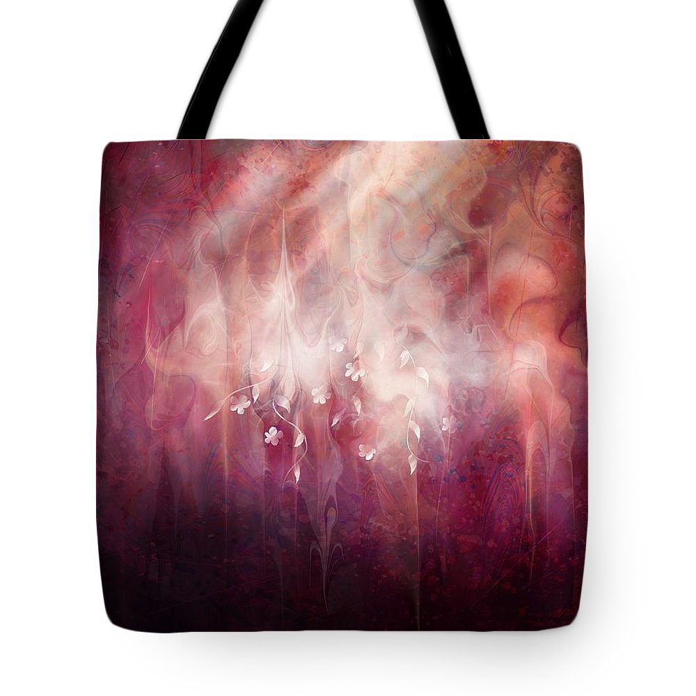 Landscape Tote Bag featuring the digital art Weight of Glory by William Russell Nowicki