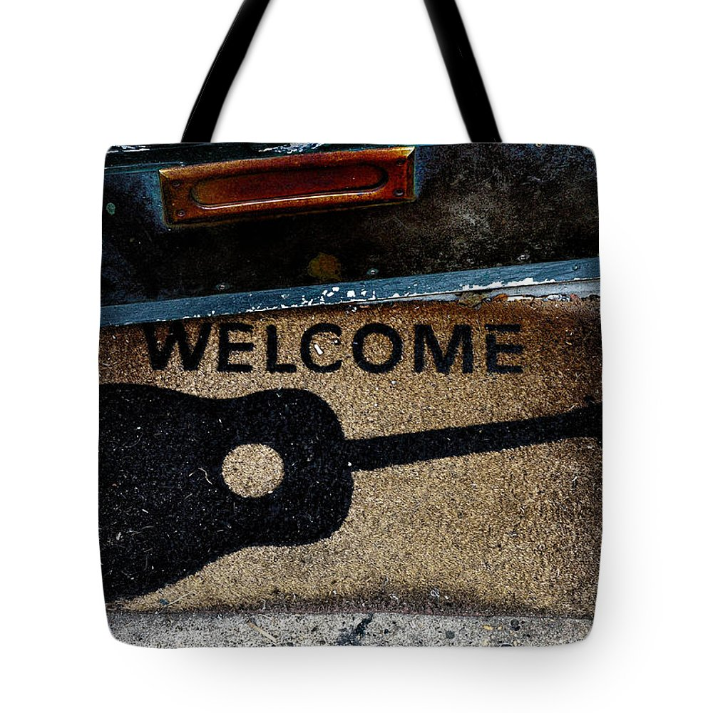 Welcome Tote Bag featuring the photograph Welcome by Bill Cannon