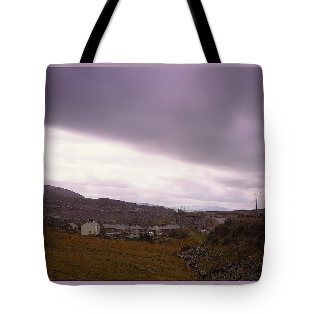 Wales Tote Bag featuring the photograph Welsh Valley by Shaun Higson