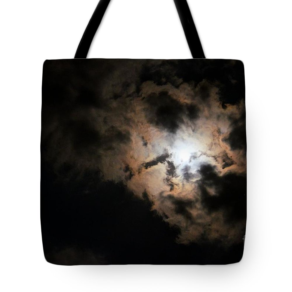 What A Strange Magic Tote Bag featuring the photograph What A Strange Magic by Maria Urso